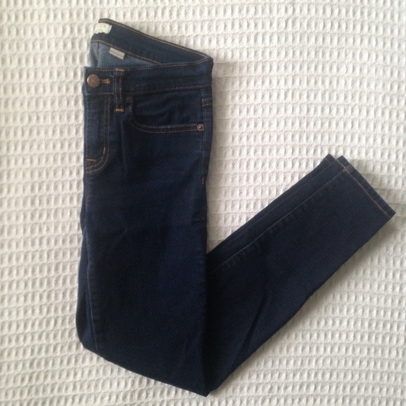 b8a31904a6 J. Crew Factory Jeans   J Crew Factory Rinse Wash Midrise Skinny 25 ...